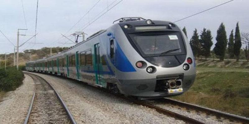 بداية من اليوم: أشغال على السكة على خط تونس قعفور الدهماني