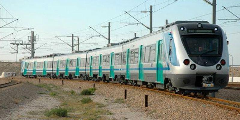 Jets de pierre contre un train de la banlieue sud : des dégâts estimés à 10 mille dinars