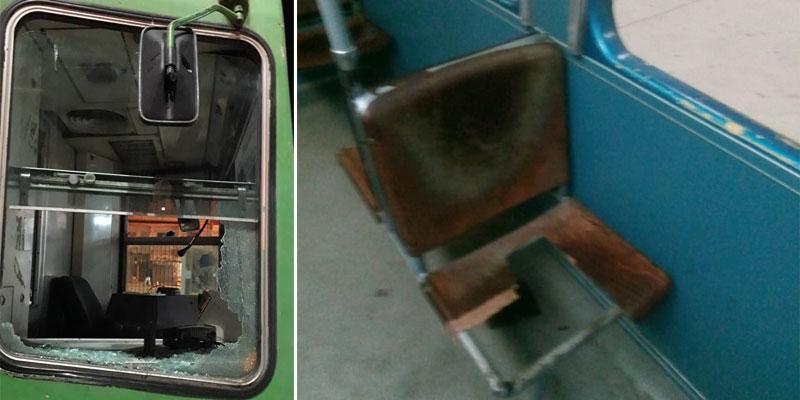 En photos : Des rames de métros et de trains vandalisées, les dégâts estimés à plus de 200 mille dinars
