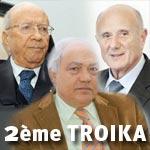 Vers la constitution d'une nouvelle TROIKA en Tunisie
