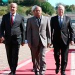 La situation sécuritaire à l'ordre du jour de la réunion des trois présidences