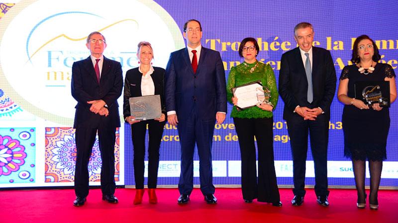 Le Trophée de la Femme Manager de l'Année (TFMA 2018) récompense les trois ambassadrices de l'entrepreneuriat féminin tunisien