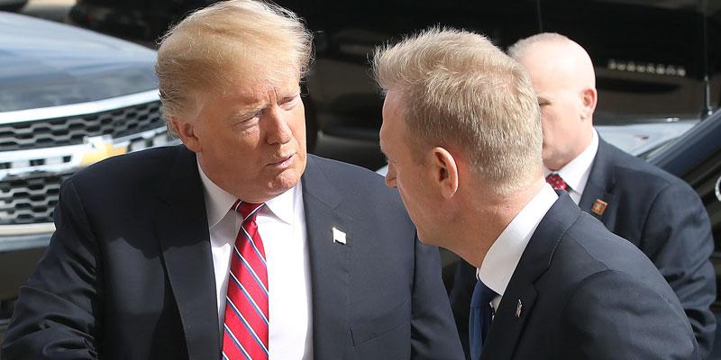 En pleine tension avec l'Iran, Trump contraint de changer de ministre de la Défense