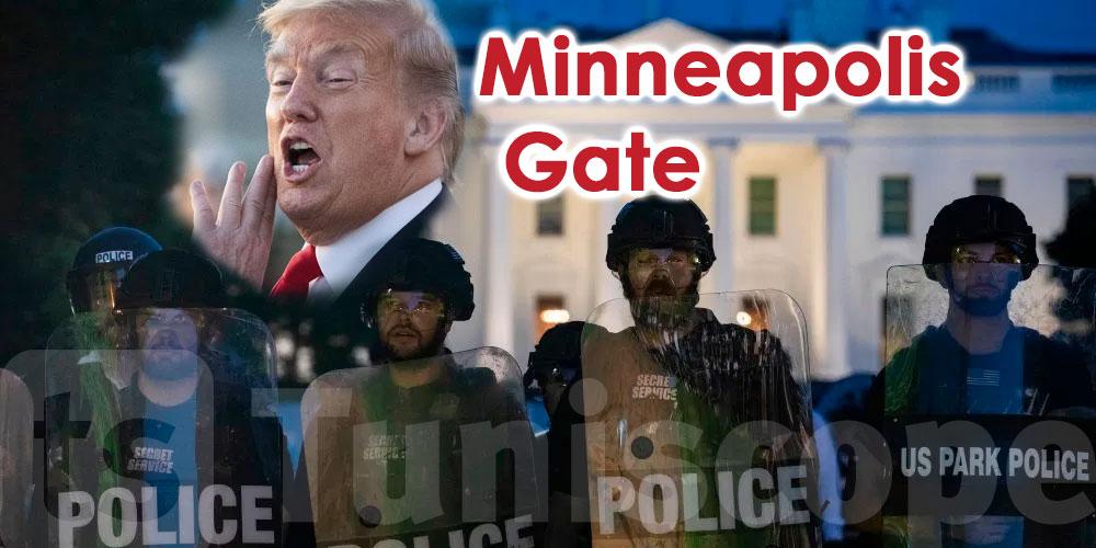 Trump dans un bunker pour fuire les manifestants