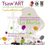 'Tsaw'ART' La rue aux artistes : le 13 Mai à la marsa