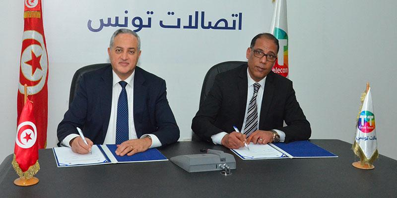 Partenariat renouvelé Tunisie Telecom et l'Ordre National des Huissiers de Justice