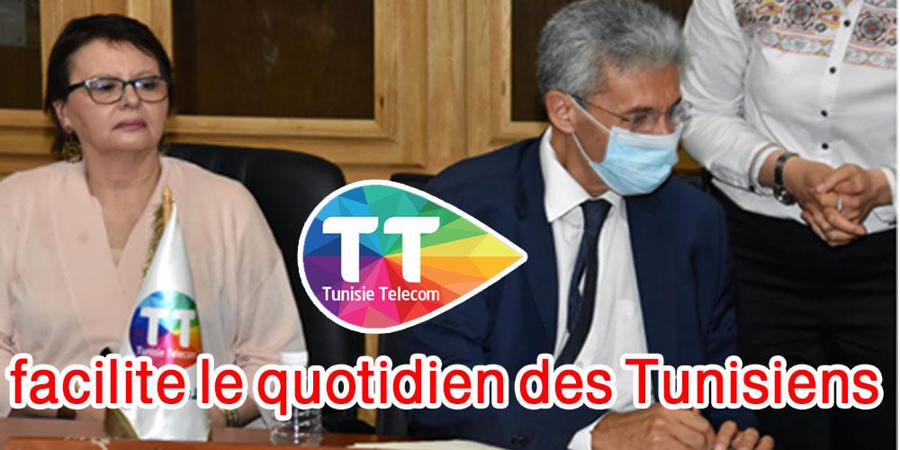 Tunisie Telecom, entreprise citoyenne,  contribue à faciliter le quotidien des Tunisiens