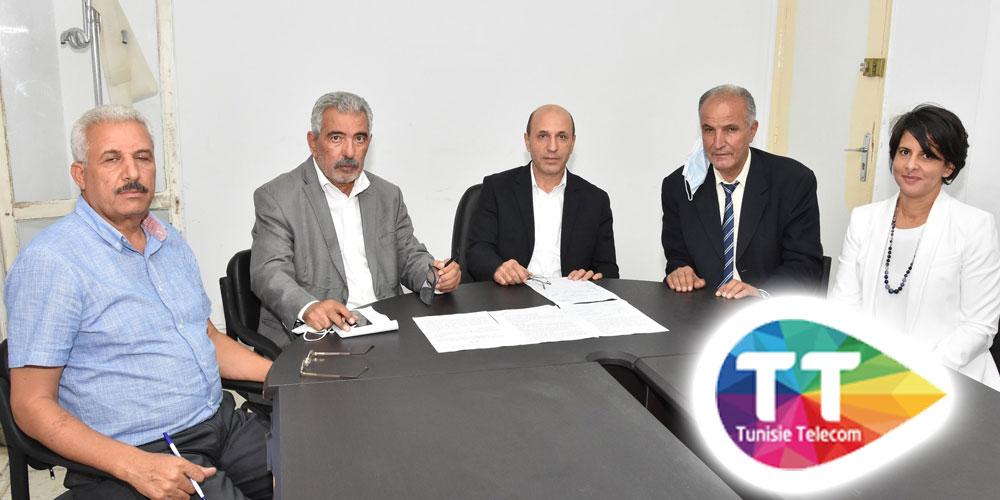 اتصالات تونس وشريكها الاجتماعي يمضيان اتفاقا ينهي الاضراب