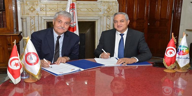 Partenariat renouvelée entre Tunisie Telecom et l'Ordre National des Avocats de Tunisie