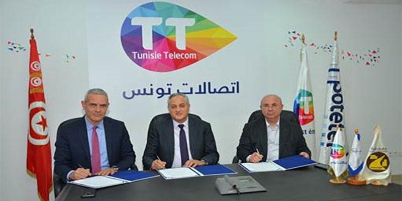 LE TRES HAUT DEBIT ET L'IMMOBILIER: TUNISIE TELECOM et sa filiale SOTETEL se rapprochent  du Groupe SOROUBAT