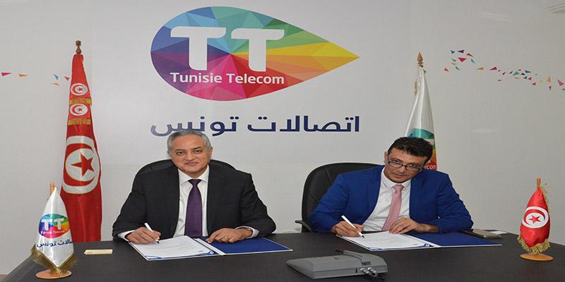 تجديد الشراكة بين اتصالات تونس  و مجمّع المحاسبين بتونس