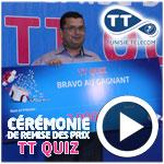 En vidéo : Remise des prix aux gagnants du jeu TT Quiz