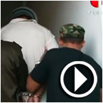 بالفيديو : القبض على قاتل أربعة أفراد من عائلته