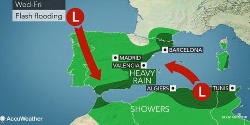 La Tunisie en alerte face aux inondations cette semaine<