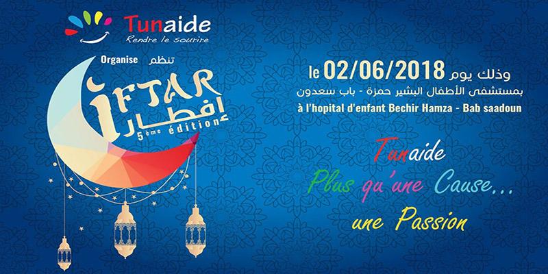La cinquième édition de l'action de l'IFTAR organisé par TUNAIDE