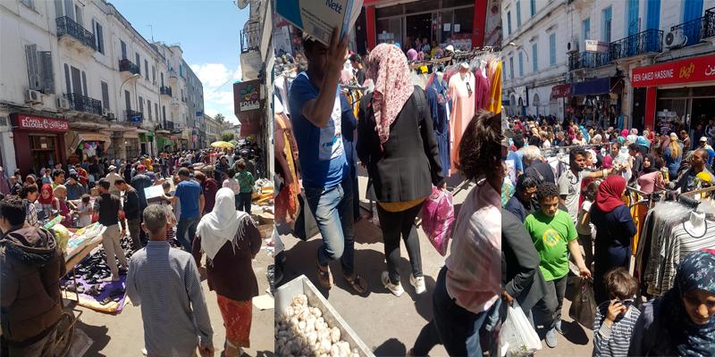La camelote s'étale toujours dans les rues de Tunis
