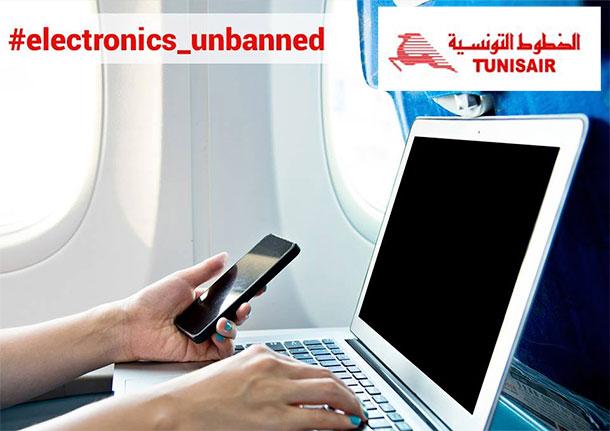 Levée de l'interdiction des appareils électroniques sur les vols à destination de la Grande Bretagne
