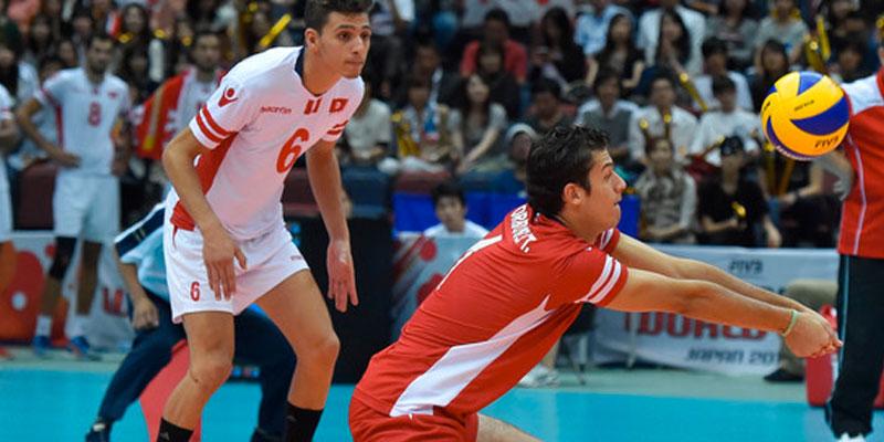 المنتخب التونسي ينهزم أمام اليابان في كأس العالم للكرة الطائرة