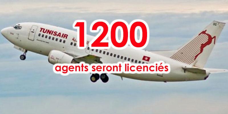 Licenciement de 1200 agents de la Tunisair pour les 3 prochaines années