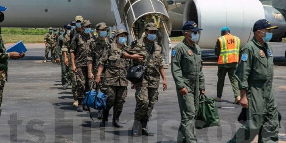 رسمي : وصول البعثة العسكرية التونسية إلى جمهورية إفريقيا الوسطى