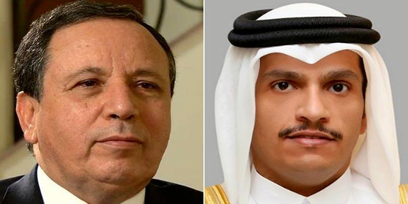 Le ministre des Affaires Etrangères sollicite le soutien du Qatar à l'économie tunisienne