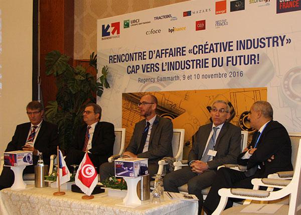 l'UBCI participe aux rencontres d'affaires ''CREATIVE INDUSTRY''