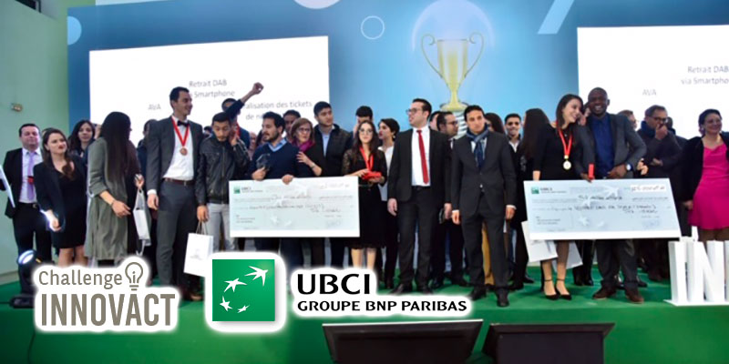 Le challenge Innovact de l'UBCI récompense des solutions bancaires innovantes