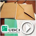 En vidéo : L'UBCI transforme les tickets de distributeurs en cahiers pour les écoliers
