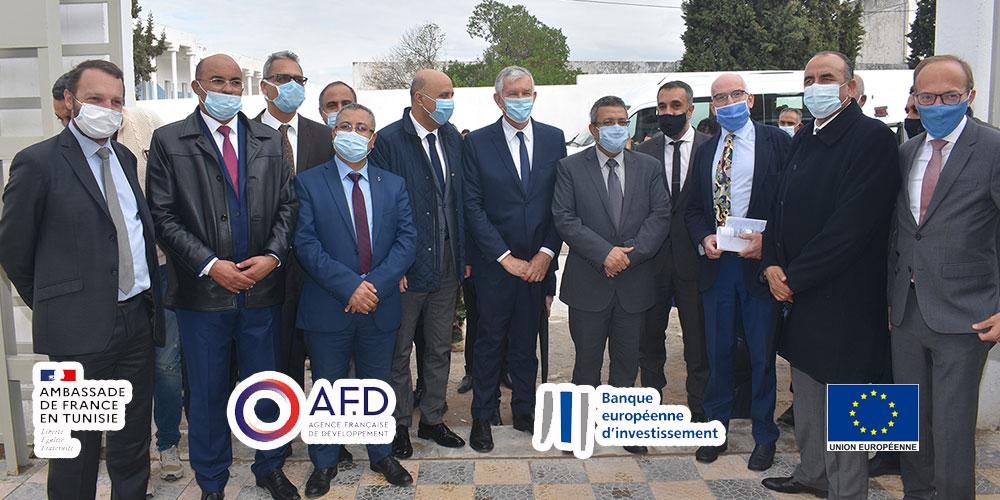 La France et l'union européenne financent des projets qui bénéficient au quotidien aux habitants du grand Tunis