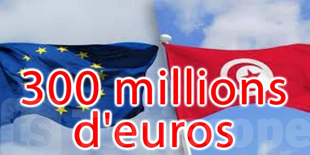 L'Union européenne verse 300 millions d'euros d'assistance macro-financière à la Tunisie