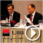 En vidéos : Alexandre Maymat et Kamel Neji présentent le bilan 2013 de l'UIB