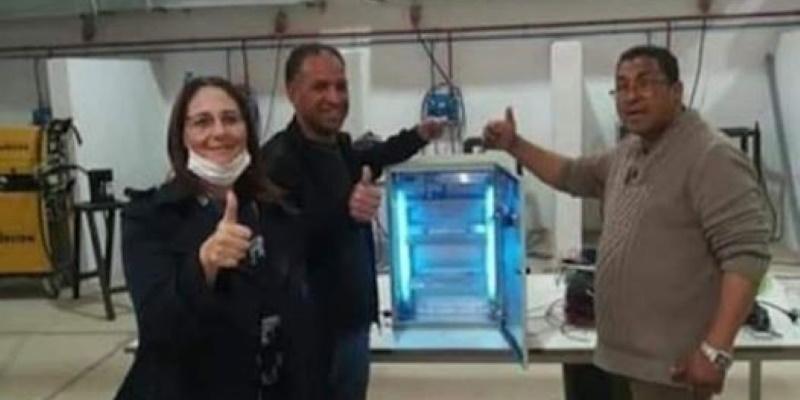 Conception d'une machine de stérilisation par Ultraviolet à Kebili