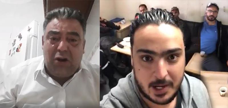 بالفيديو: والد البحار الذي صوّر فيديو  داخل السفينة أوليس باكيا ''سيّبوا ولدي راو حرام..''