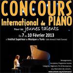 Du 7 au 10 Février : 1ère édition du concours international de piano pour les Jeunes Talents