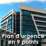 Le plan d'urgence en 9 points de l'UTICA