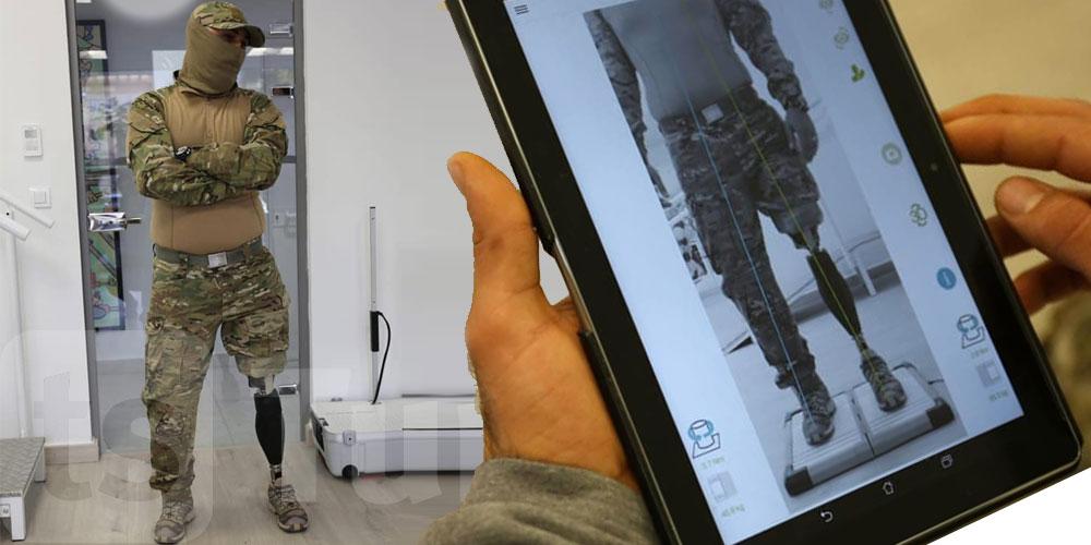 En photos : Une prothèse intelligente pour un héros de la garde nationale