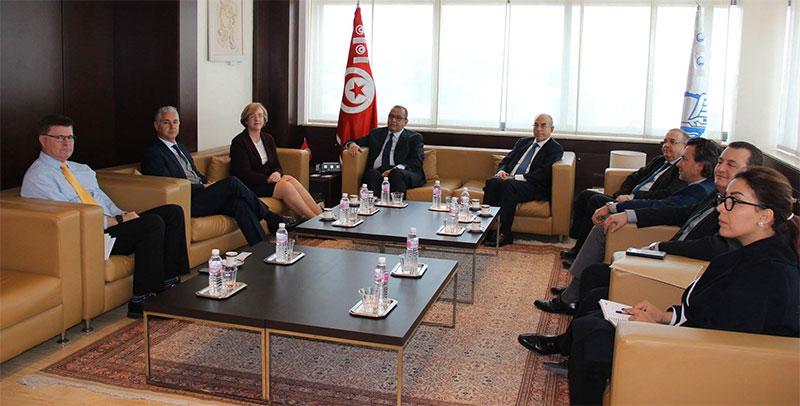 L'Ambassadrice et le Président de la chambre tuniso-britanique reçus à l'UTICA