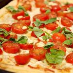 Tarte aux tomates et au pesto