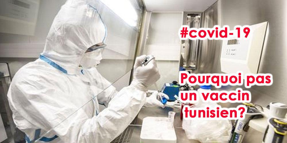 Slim Choura: pourquoi ne pas avoir un vaccin tunisien du covid-19?
