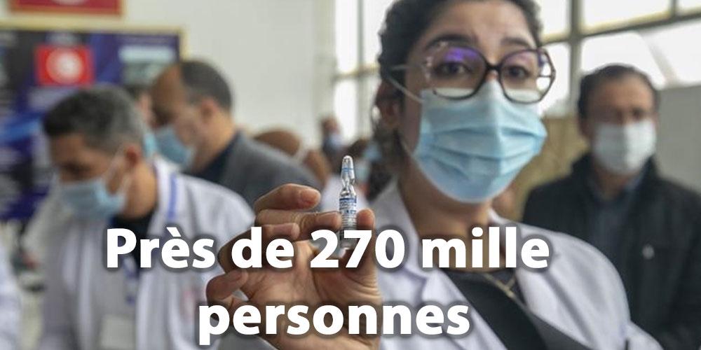 Près de 270 mille personnes vaccinées jusqu'à 13h