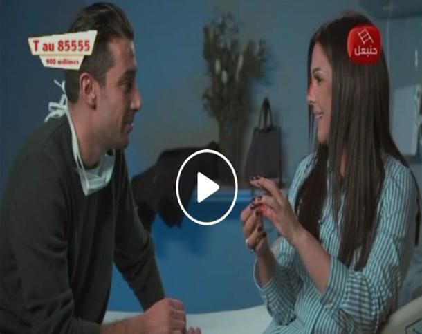 بالفيديو: هكذا كان رد فعل الفنانة منيرة حمدي في برنامج الكلينيك