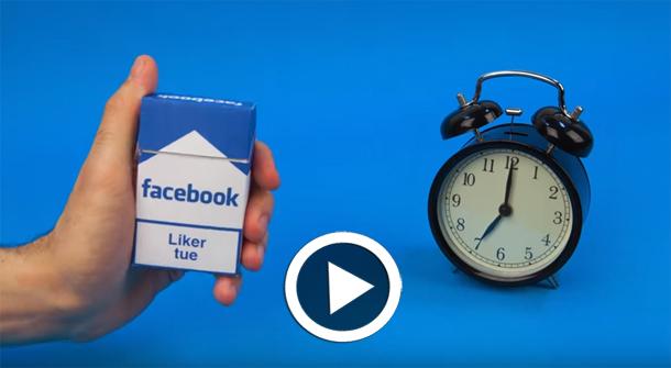 Sommes-nous accros aux réseaux sociaux ? une vidéo en stop-motion explique...
