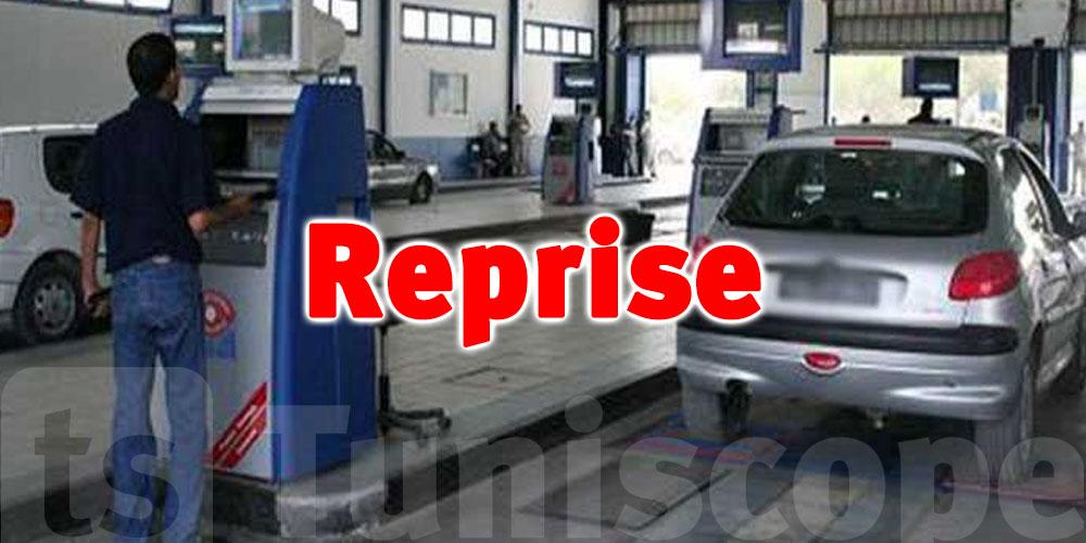 Annonce de la reprise des visites techniques des voitures par l'ATTT