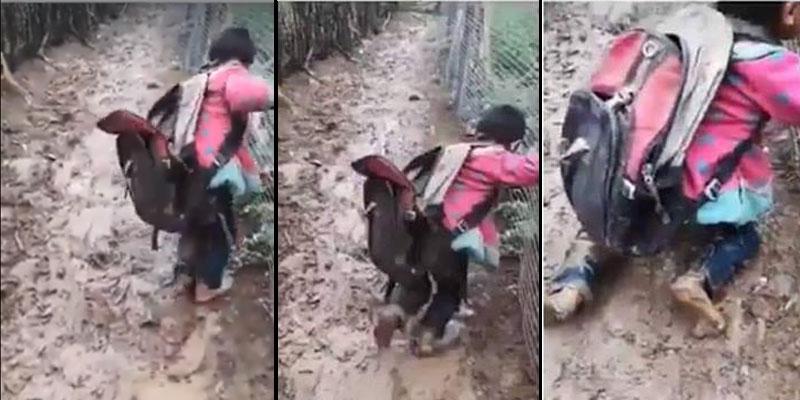 راج أنّه يتعلّق بطفل أصيل القصرين: حقيقة هذا الفيديو المؤلم