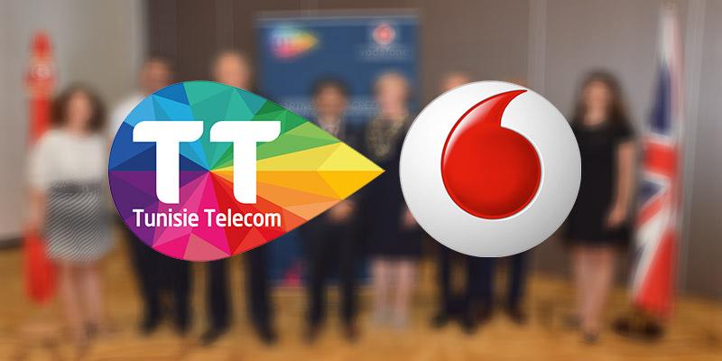 اتفاقية شراكة بين اتصالات تونس  و فودافون