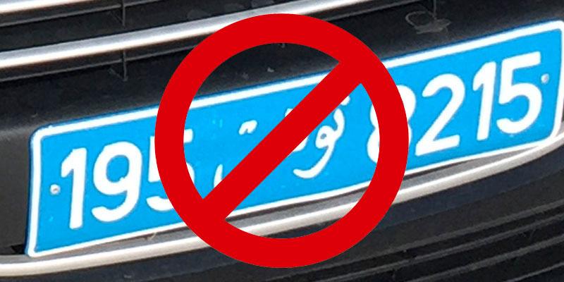 la nouvelle mesure des voitures louées n'est pas respectée