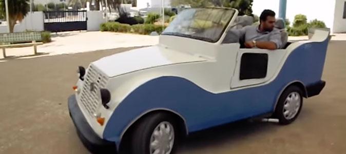 Un jeune tunisien fabrique une voiture, le ministère du Transport lui répond 'La Tunisie n'est pas un pays producteur de véhicules''