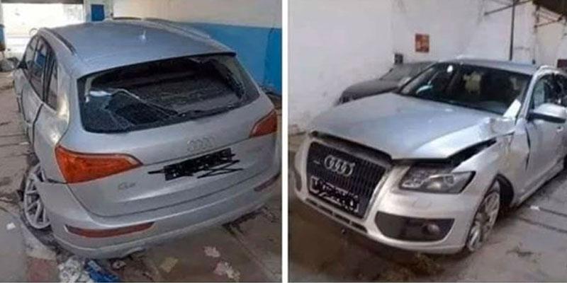 À quel ministre appartient cette voiture ? et qui l'a endommagée ? Mohamed Abbou intervient