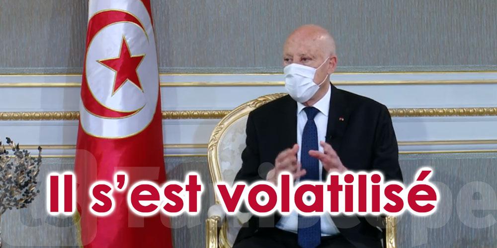 En vidéo...Kaïs Saïed: Ali Kooli s'est volatilisé…son téléphone est éteint
