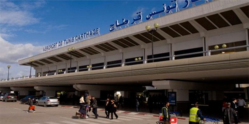 Les vols suspendus à l'aéroport de Tunis-Carthage